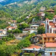 Panoramic view of the village Moutoullas. Nicosia district. Cypr — Stock Photo #53808443