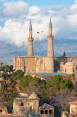 Selimiye mosque (St. Sophia Cathedral). Nicosia, Cyprus — Stock Photo