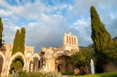 Bellapais, medieval Abbey near Kyrenia, Cyprus. — Stock Photo