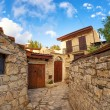 Street in the traditional Cypriot village Lofu. Limassol District, Cyprus — Stock Photo #57131907