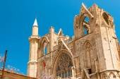 Minaret of Lala Mustafa Pasha Mosque. Famagusta, Cyprus. — Stock Photo