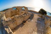 Ancient Kourion. Limassol District. Cyprus — Stock Photo