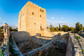 Kolossi Castle, a former Crusader stronghold. Limassol District. — Stock Photo