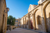 View at Faneromeni Square. Nicosia, Cyprus — Stock Photo