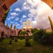 Bellapais Abbey, front view. Kyrenia, Cyprus — Stock Photo #70872075