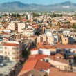 Northern part of Nicosia, aerial view with tilt-shif effect. Cyprus — Stock Photo #70872631
