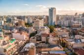 Aerial view of Nicosia city, Cyprus — Stock Photo