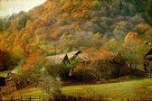 Höstens landsbygdens landskap — Stockfoto
