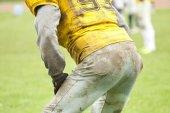 American footbal player — Foto de Stock