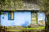 Starý venkovský dům — Stock fotografie