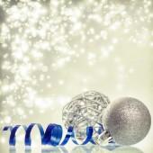 Noel Noel topları arka plan — Stok fotoğraf