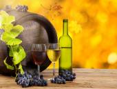 Wine still-life — Stock Photo
