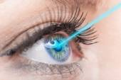 Close up of a female eye — Stock Photo