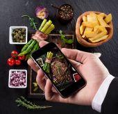 Smartphone shot food photo — Stock Photo