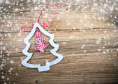 Tradition Christmas decorations background — Foto de Stock