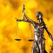 Themis in spotlight, law concept. — Stock Photo #57071271