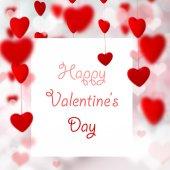 Valentinstag Hintergrund — Stockfoto