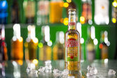 Desperados, a pale lager flavored with tequila — Stock Photo