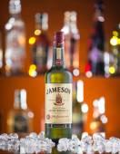Jameson whiskey on bar desk — Stock Photo
