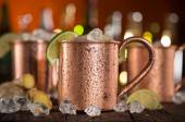 Cold Moscow Mules — Stock Photo