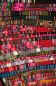 South American traditional fabric — Stock Photo