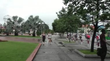 Central street of Ho Chi Minh City — Video Stock