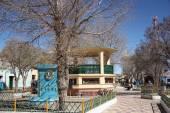 Central Square of Uyuni, Bolivia — Stock Photo