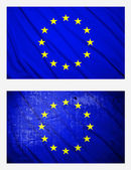 Flags of European Union — Stock Photo