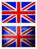 Flags of United Kingdom — Stock Photo