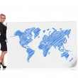 World map — Stock Photo #52379425