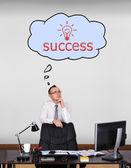 Başarı hayal — Stok fotoğraf