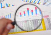 Geschäftsbericht — Stockfoto