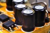Condensadores — Foto de Stock