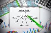 Seo scheme — Stock Photo