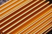 Yellow chipset heatsink — Stock Photo
