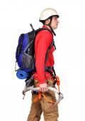 Tourist hiker — Stock Photo