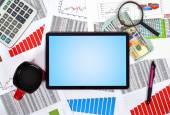 Blank digital tablet — Stock Photo