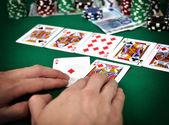 Poker street — Stock Photo