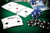 Poker game concept — Stok fotoğraf