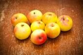 Rustic autumn apples — Foto Stock