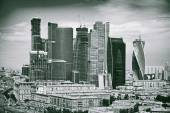 International Business Center Moscow City. Modern architecture in the city of Moscow, Russia — Stock Photo