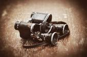 Military binoculars since the Second World War — Foto Stock