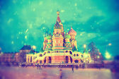 Basil's Cathedral in Moscow, Russia — Stock Photo