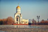 George Temple in Moscow on Poklonnaya Hill — Stock Photo
