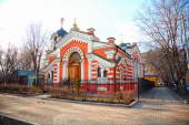 Russian Orthodox Church in Moscow, Russia — Стоковое фото