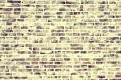 Spectacular treatment of brick wall texture. filter applied style instagram — Stock Photo