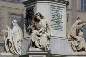 Prophet Isaiah (Isaias) statue in Rome, Italy. — Stock Photo