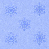 Festive blue packing Paper with snowflakes for background — Foto de Stock