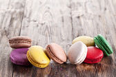 Colourful french macaron. — Stock Photo