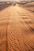 Rippled sand in desert. — Stock Photo
